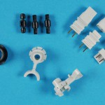 Collection of small mouldings with and without inserts